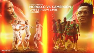 Cameroon vs. Morocco on Twitter