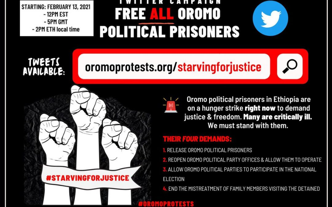Campaign to Free Prisoners - Photo Kullee on Twitter