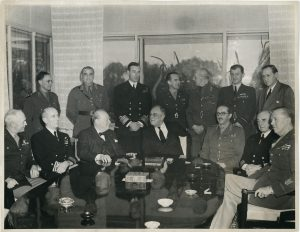 The Allies at Casablanca Conference - Photo Forward with Roosevelt National Archives