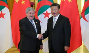 China and Algeria Hand in Hand Fighting COVID - The Guardian