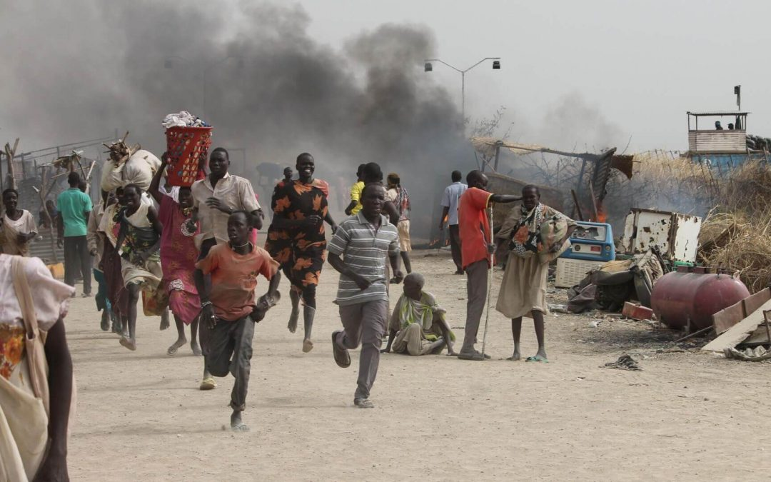 Clashes with Secuity Forces in South Sudan - Photo Statecraft