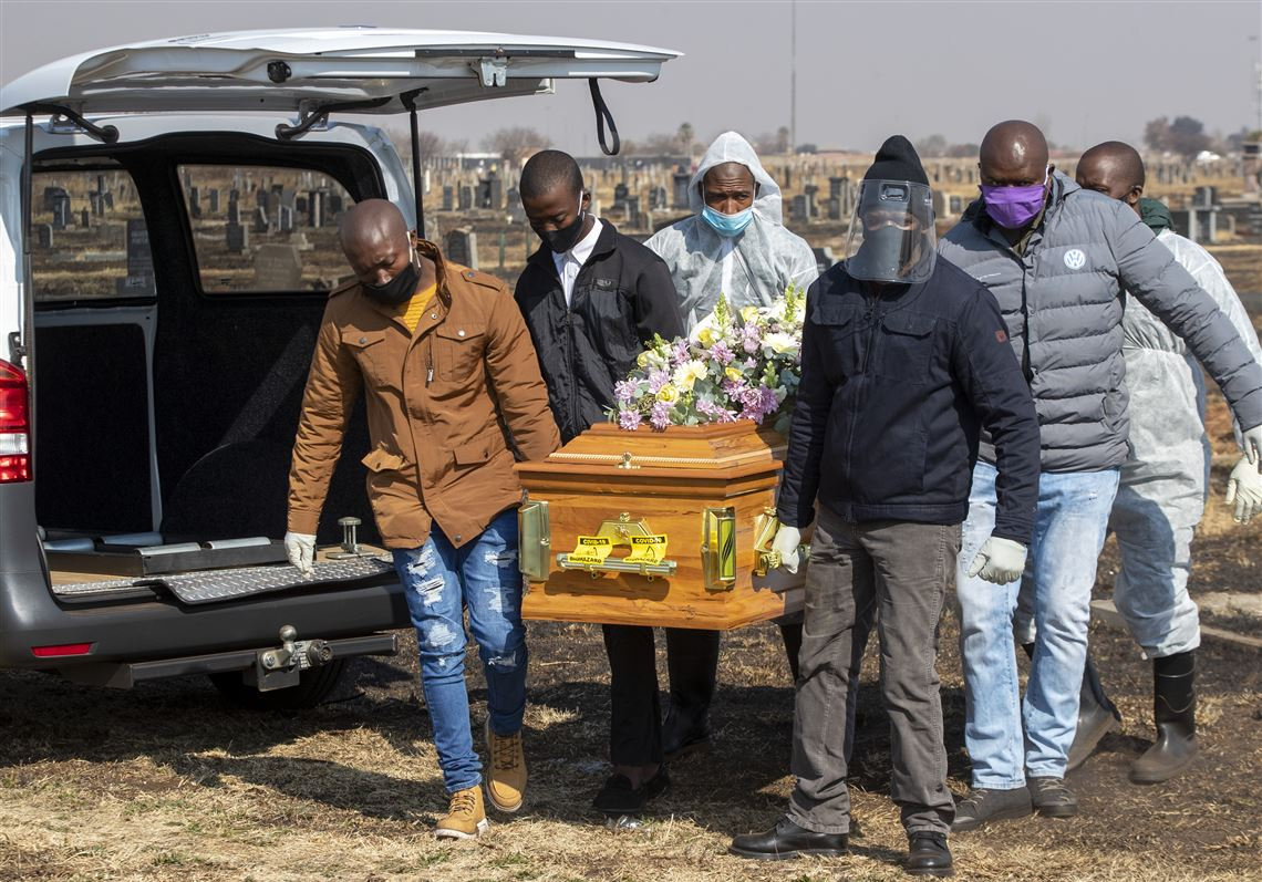 Death Toll Slowed in Feb. 2021 in Africa - Photo Pittsburgh-Post Gazette
