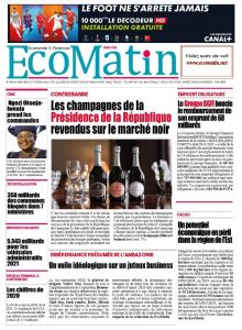 EcoMatin Frontpage