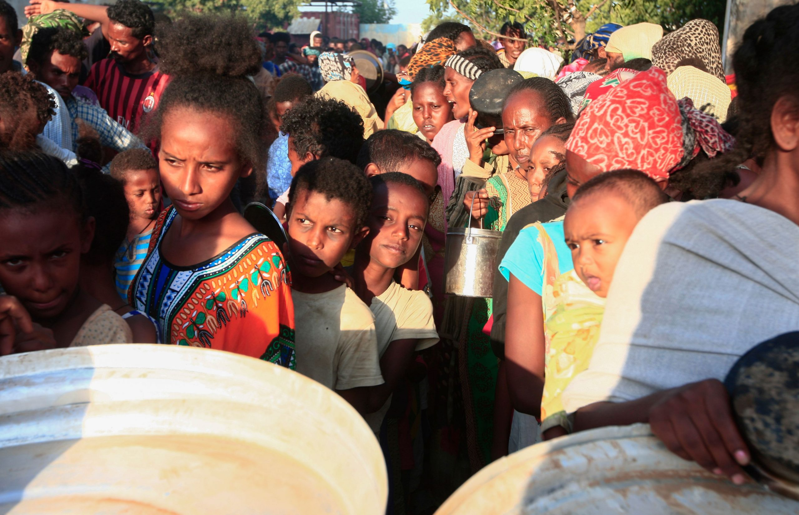 Ethiopian Refugees from Tigray in Camps in Sudan - Photo EBRAHIM HAMID/AFP via Getty Images