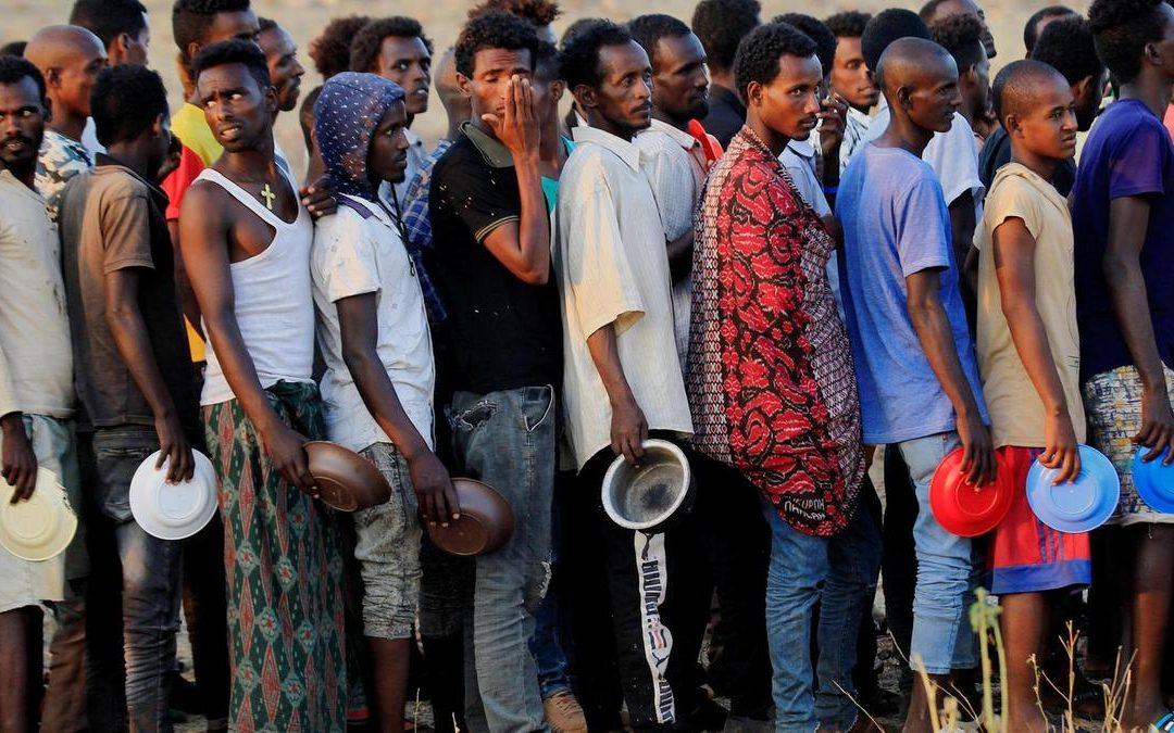 Ethiopian Refugees in Sudan - Photo The National