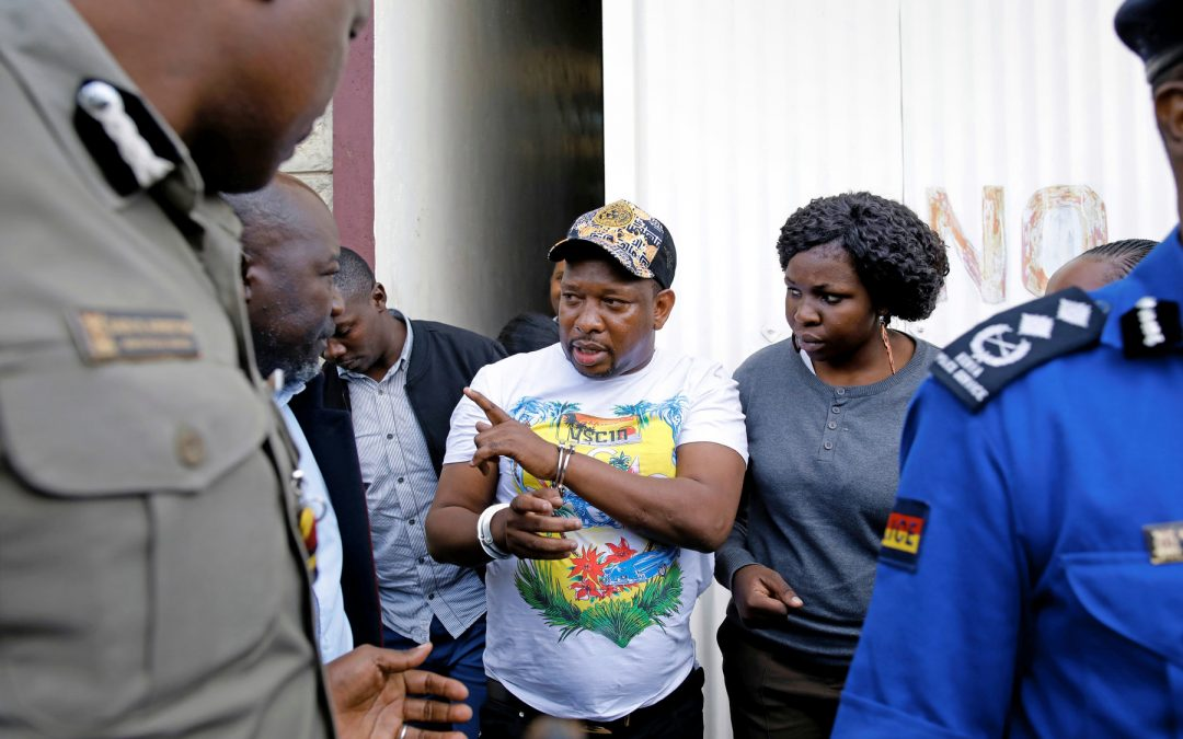 Ex-Nairobi Governor Mike Sonko in Cuffs - The New York Times