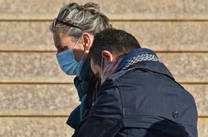 Family and Friends of Herve Gourdel were in Court - Photo Yahoo News