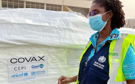 First Vaccine Doses from COVAX Arrive Ghana - Photo EWIN