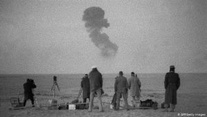 French Nuclear Tests 60 Years Ago - Photo Deutsche Welle