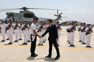 French Troops in Djibouti - Photo The Globe and Mail