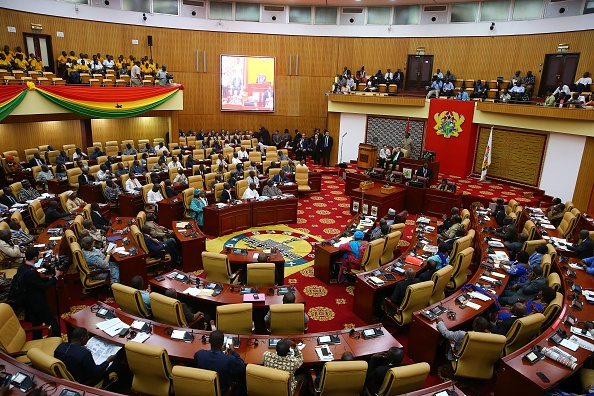 View of Ghanaian Parliament - Photo Okan Ozer/Anadolu Agency/Getty Images