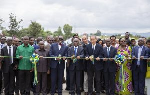 Ground Breaking for Cairo to Cape Highway - African Development Bank