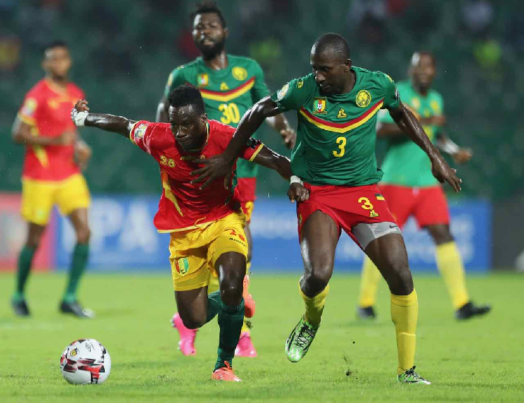 Guinea Beat Cameroon Two-Zero - Photo News Central