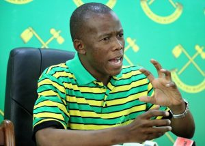 Humphrey Polepole of the Tanzania CCM - Photo East Africa Herald