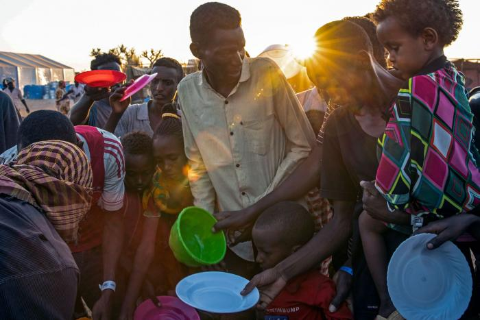 Internally Displaced Ethiopians in Tigray - Photo Human Rights Watch