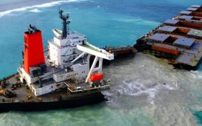 Mauritius: Wrecked Ship Parts to be Recycled