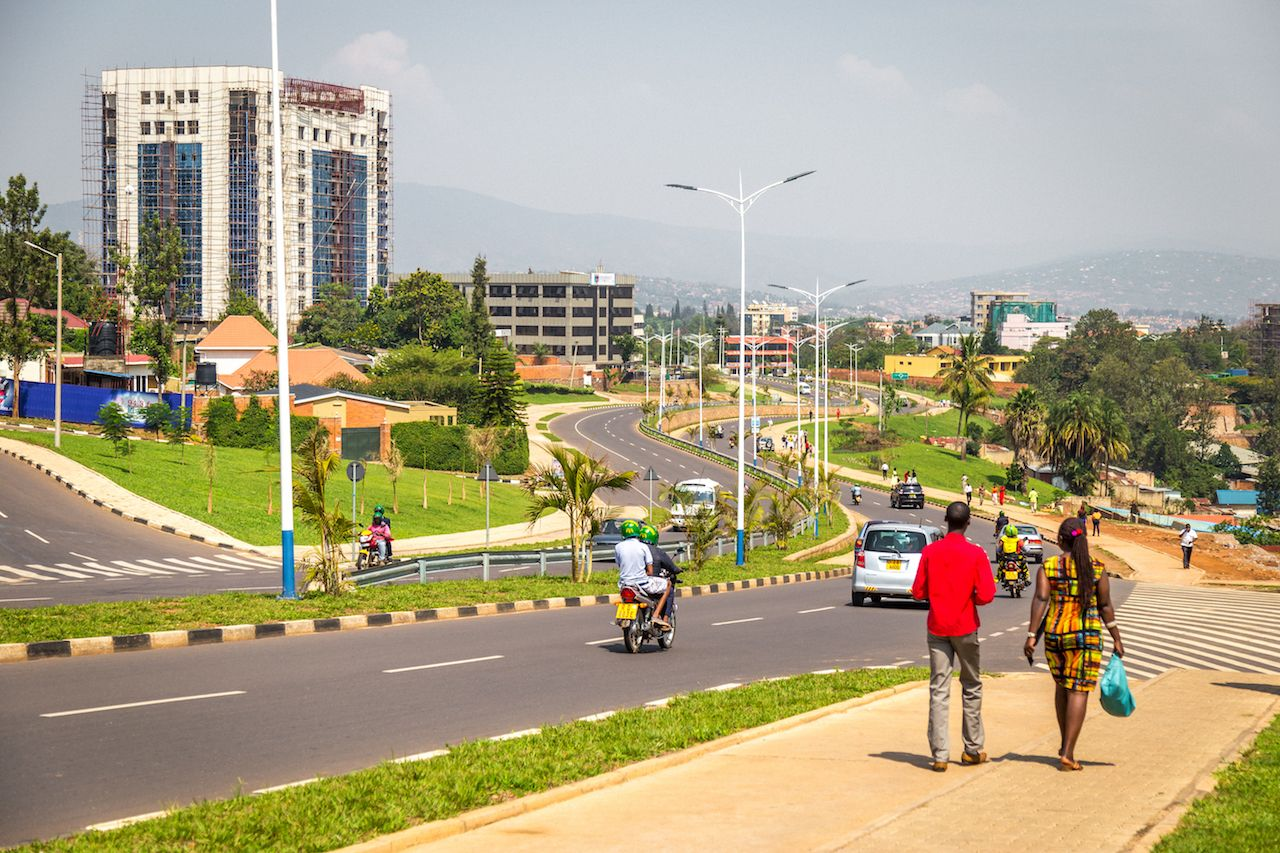 Kigali One of Africa's Cleanest Cities - Photo Matador Network