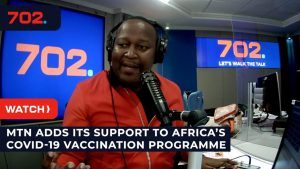 MTN Support to COVID-19 Inoculation - YouTube ScreenShot