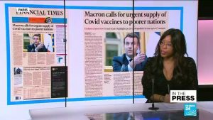 Macron Calls for Support to Poorer Nations - Photo France 24