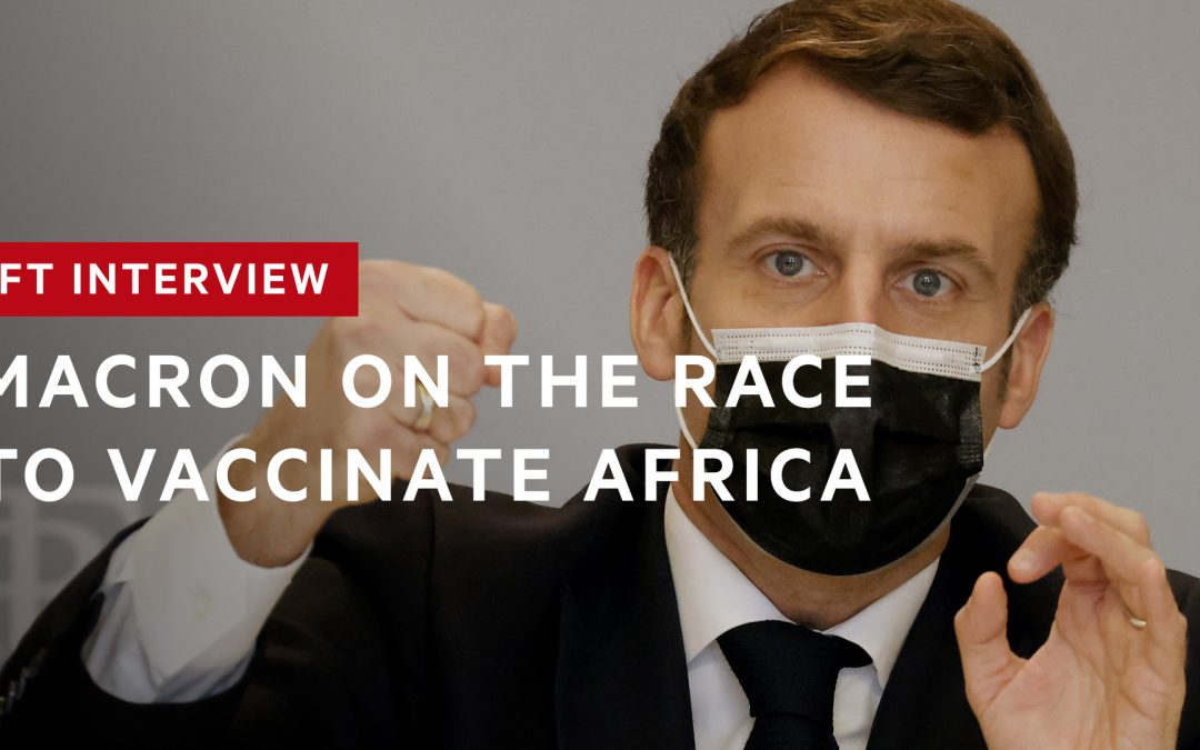 Macron in FT Exclusive Interview - Photo FT