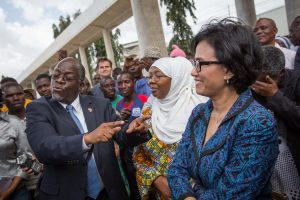 Magufuli has praised those who don't wear masks - Photo African Arguments