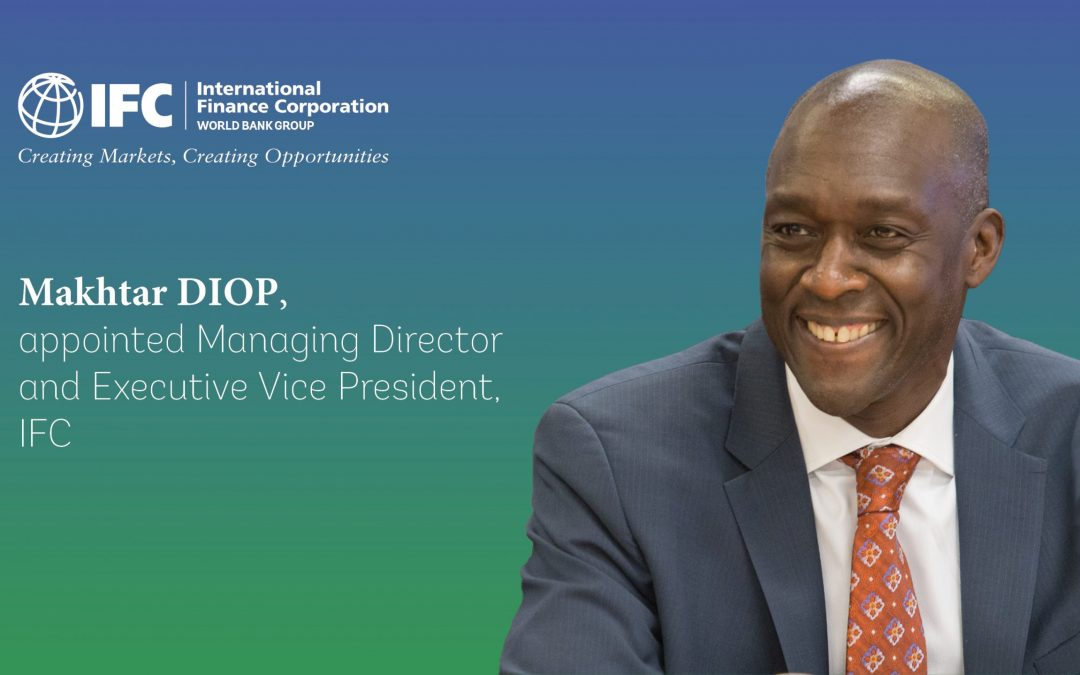 Makhtar Diop Named IFC Boss - Photo Railway Business