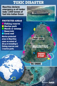 Mauritius Ship Wreck and Oil Spill - The US Sun
