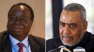 Ndulu (L) and Hamad among the High-Profile COVID Deaths - Photo The East African