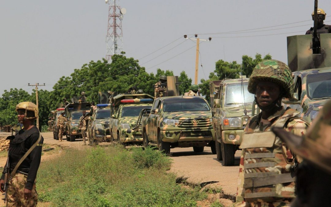 Nigerian Means Business Going After Boko Haram - Photo Yahoo News