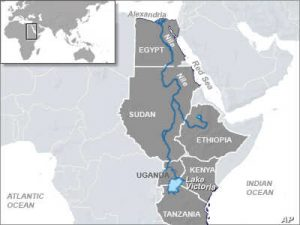 Nile Basin Countries - Source- Voice of America