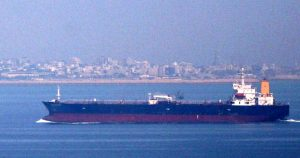 Oil Tanker Exports Gas - Photo Middle East Online