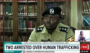 Police arrest two for human trafficking - Photo NBS Television
