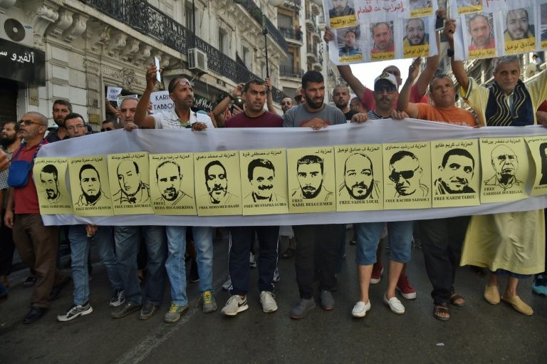 Protests Calling for Release of Activists - Photo Middle East Eye