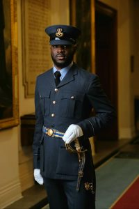 Queen of England Honors Nigerian-born Air Force Officer - Photo eBuzz Nigeria