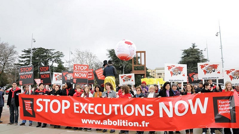 Rally to Stop Executions - Photo Voice of the Cape