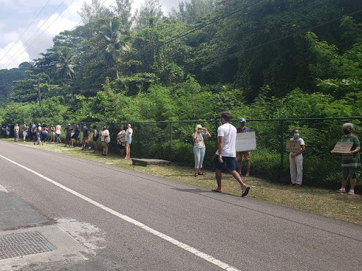Residents Protest Hotel Project - Seychelles News Agency