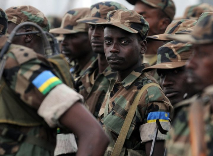 Rwanda Bolsters Troops in CAR - Photo ZNBC