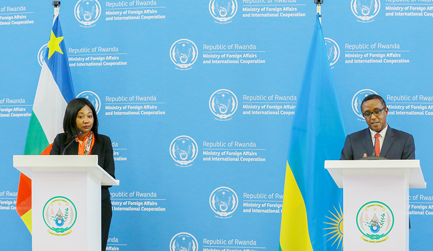 Rwanda and CAR Commit to Strengthen Cooperation - Photo The New Times