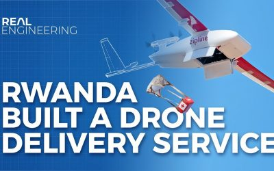 Rwanda: Drone Delivery of Meds and PPEs