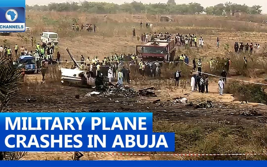 Seven Killed in Military Plance Crash - Photo Channels Television