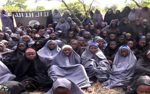 Some of the Chibok Girls in Captivity - Photo The Guardian Nigeria