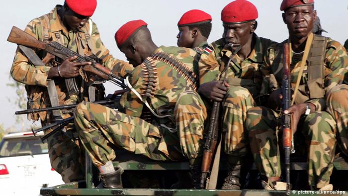 South Sudanese Troops - Photo Deutsche Welle