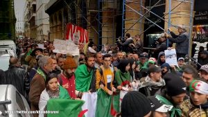 Street Protests in Algeria - Photo Human Rights Watch