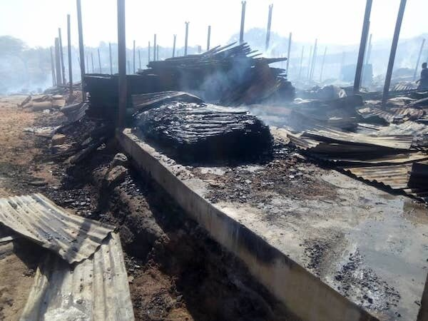 The Aftermath of Market Fires in Nigeria - Photo Ground News