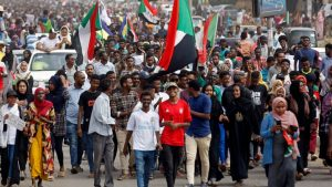 The protests that toppled al-Bashir - Photo ABC News