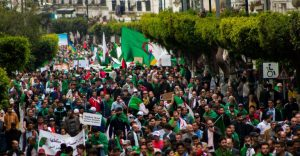 Thousands of Algerians in Streets - Photo Algeria Freedom House