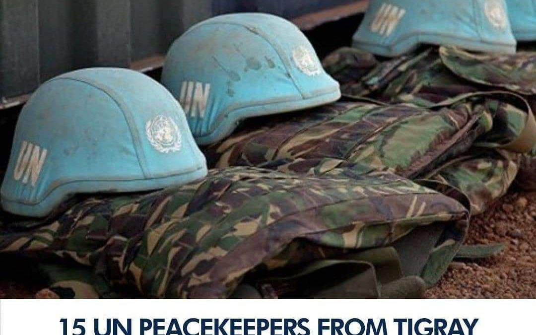 Tigrayan Peacekeepers Refuse to Go Home - Photo 9jaBreed