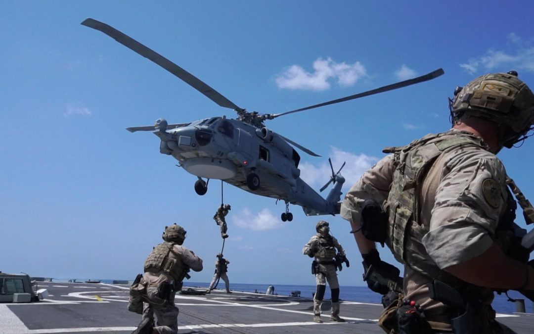 Training Exercises in the Port of Djibouti - Photo EU NavFor