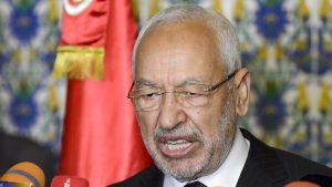 Tunisian Parliament Speaker Rached Ghannouchi - Photo Al Arabiya