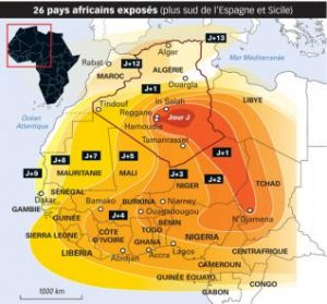 Twenty-six African Countries Impacted by French Nuclear Tests - Source DZ Breaking